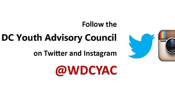 Image of DCYAC on Twitter and Instagram