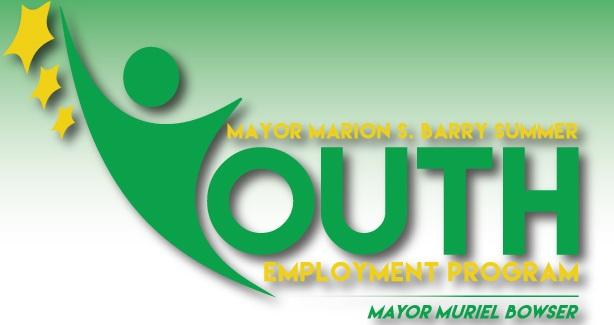 2015 Mayor Marion S. Barry Summer Youth Employment Program Logo